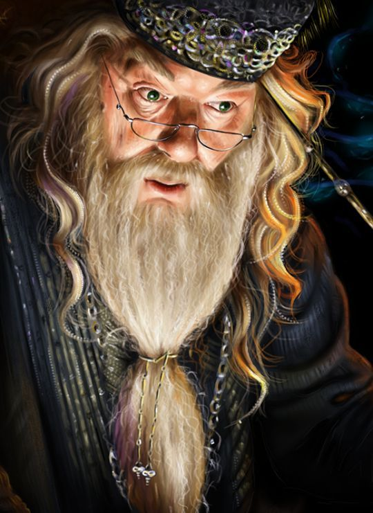 Dumbledore By Lara Cremon Albus Dambldor Hogvarts Garri Potter