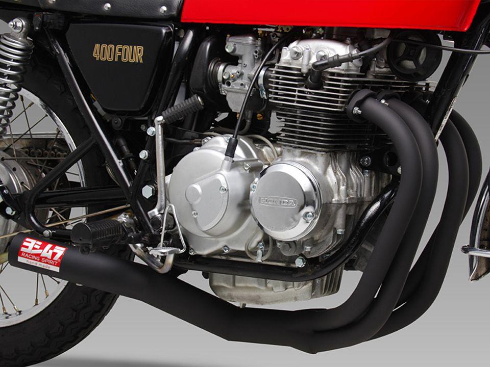 Yoshimura Honda Cb400f Racing Straight Cyclone 4 Into 1 Exhaust Honda Vintage Honda Motorcycles Honda Motorcycle Parts