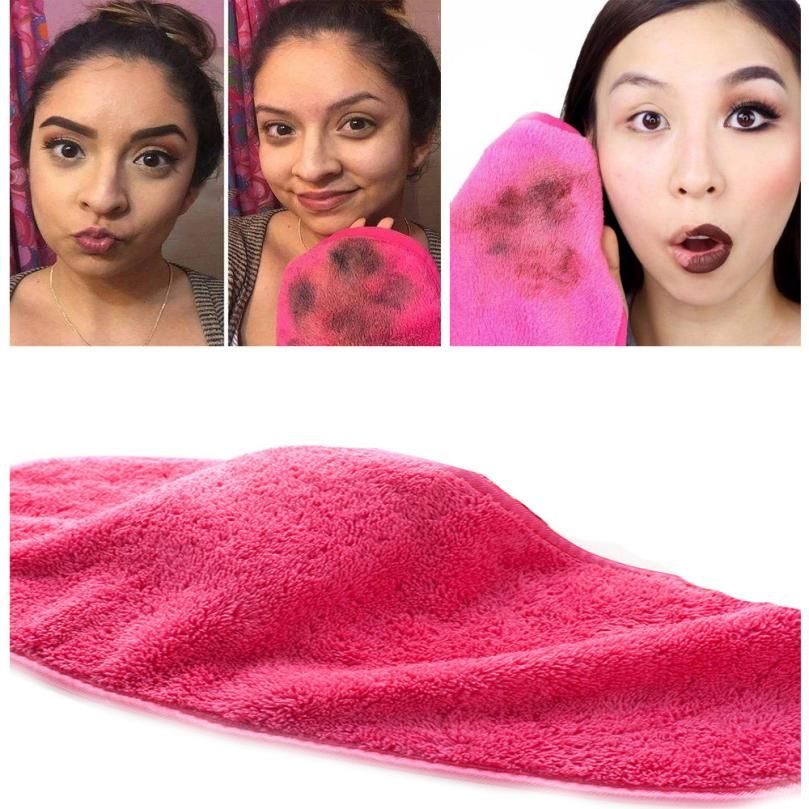 1PC microfiber makeup remover towel Cloth Pads Remover
