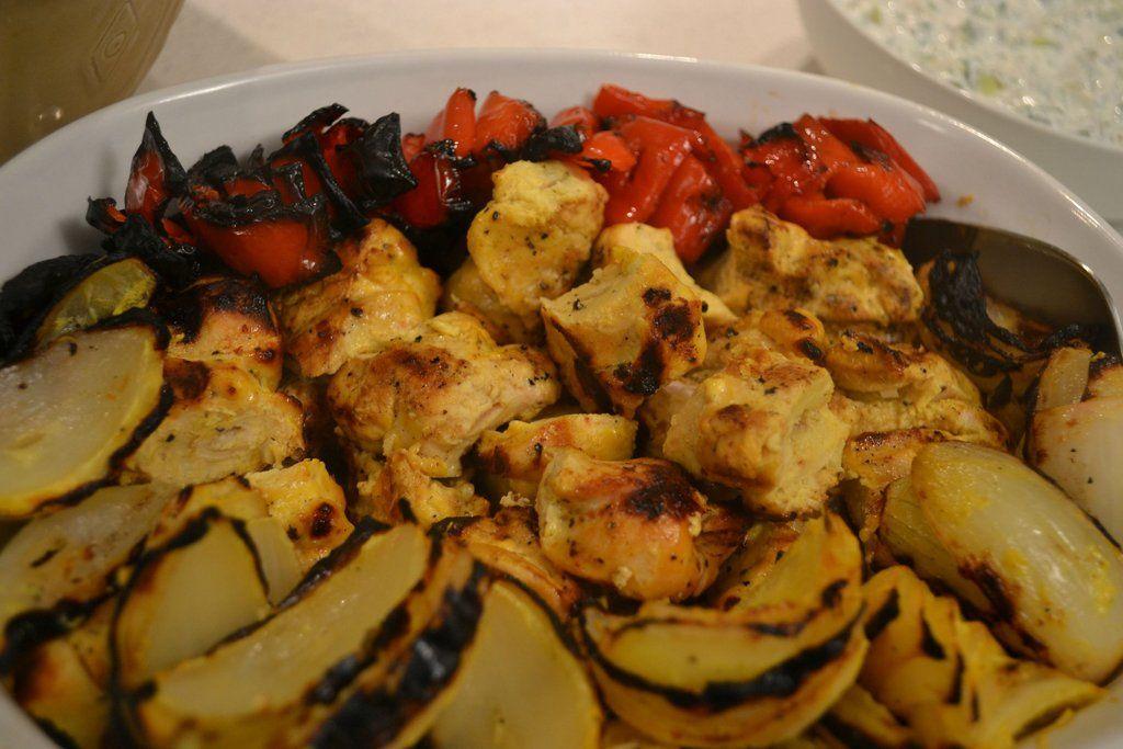 Jujeh Kabob - Persian Chicken Kabob #chickenkabobmarinade