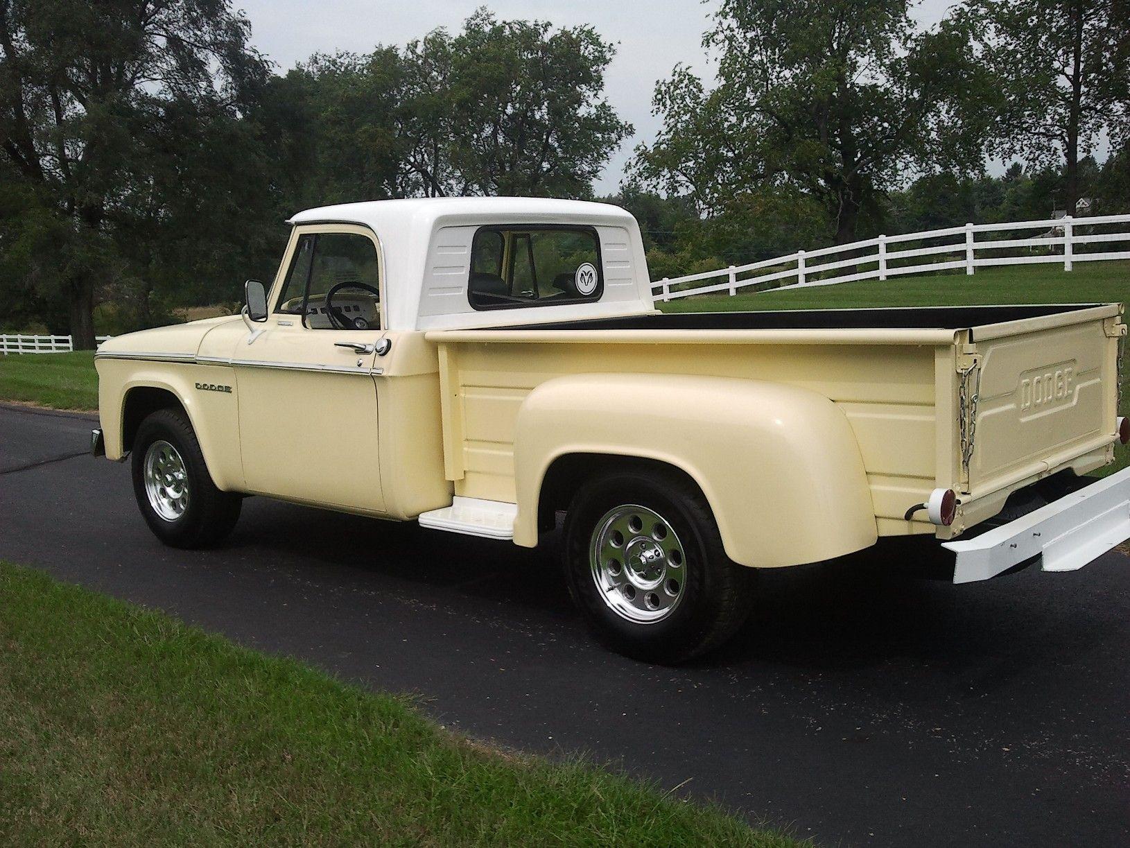 For sale really nice 1965 dodge d 100 stepside pickup truck 318 v