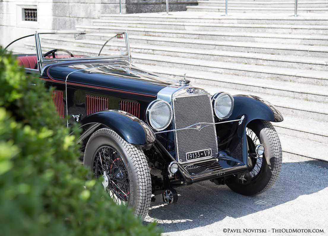 1931 MM Superba 665 SSMM Cabriolet