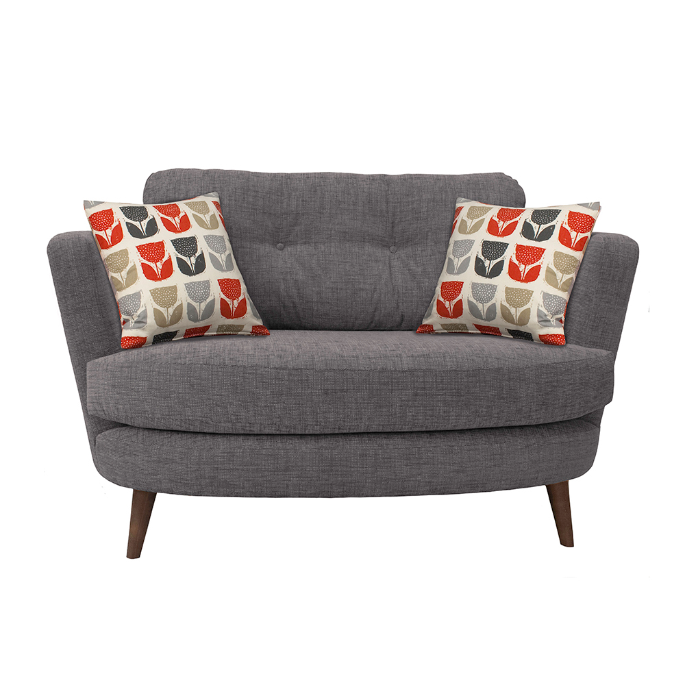 Myers Oval Cuddler Chairs Living Room in 2020