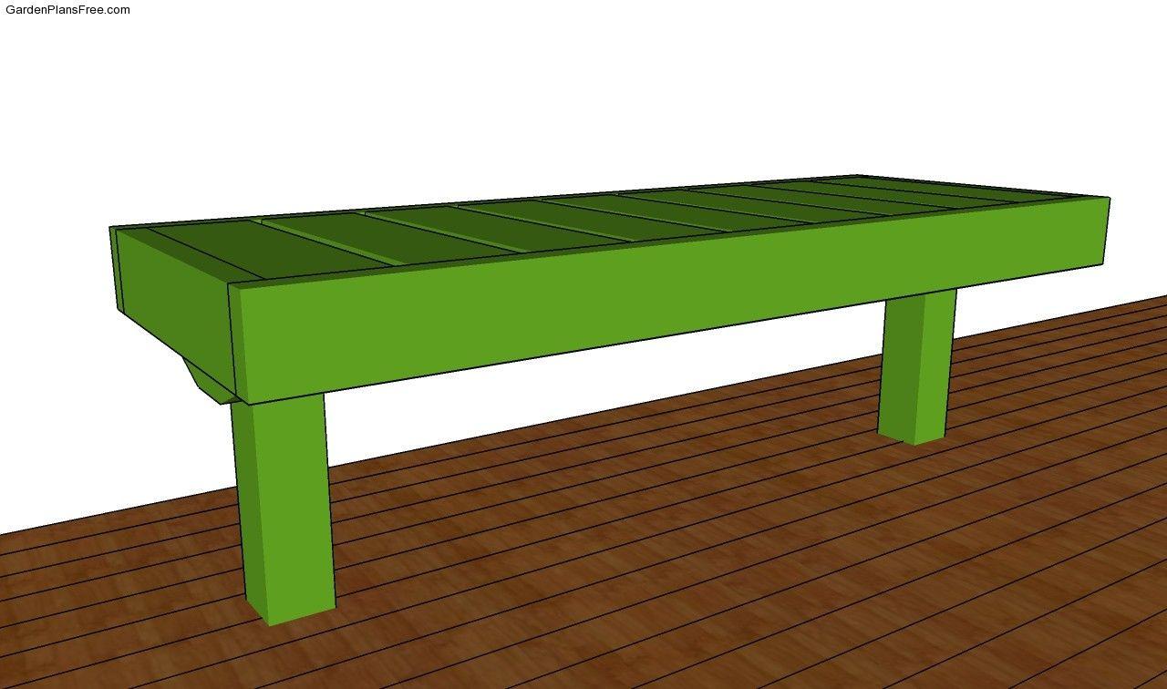 deck bench plans free garden deck pinterest deck plans garden