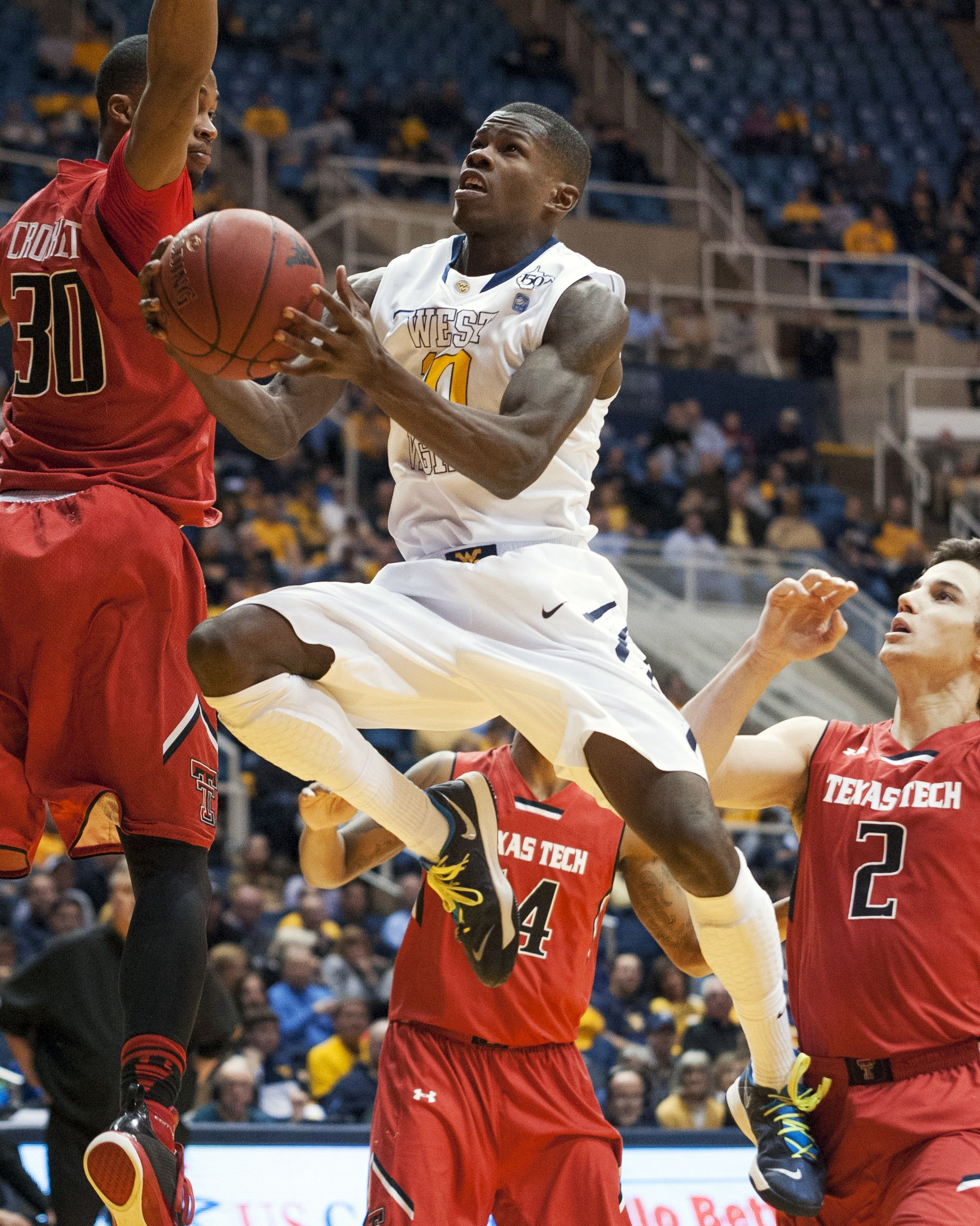 Jan. 22, 2013 — West Virginia 87, Texas Tech 81 (Photo