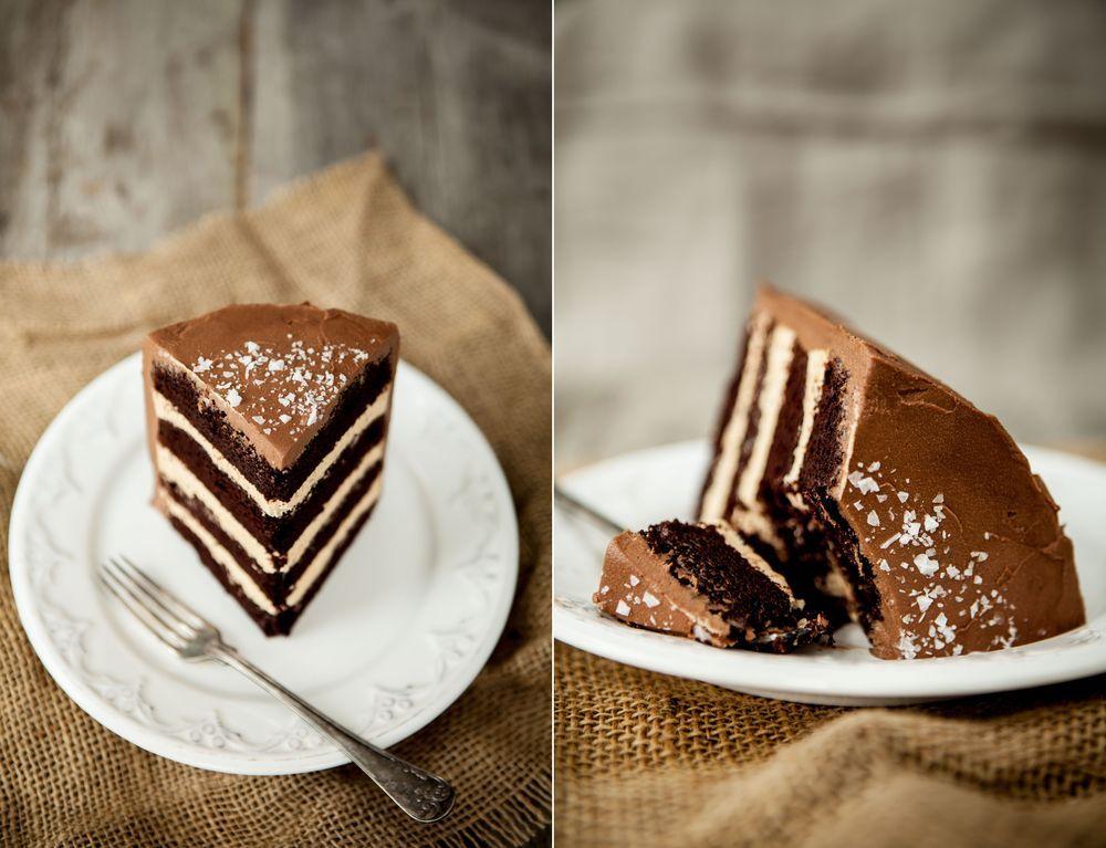 chokladtårta med dulce de leche