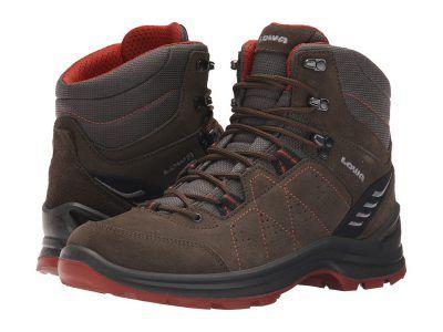 Lowa - Tiago Mid (Slate/Rust) Men's Shoes