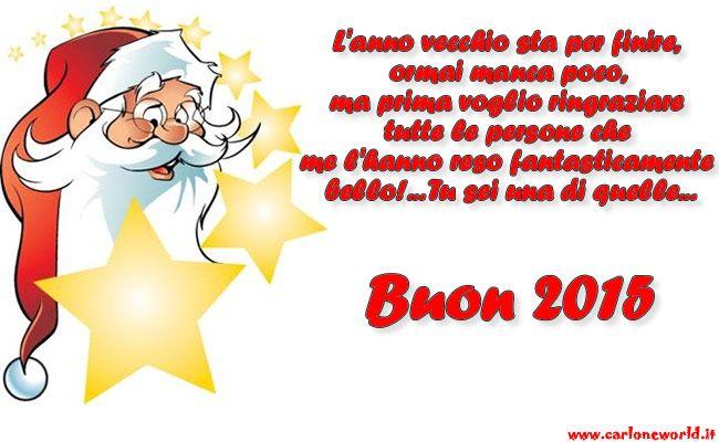 Immagini Babbo Natale Con Frasi.Babbo Natale Con Frase Di Auguri Buon 2015 Pensieri
