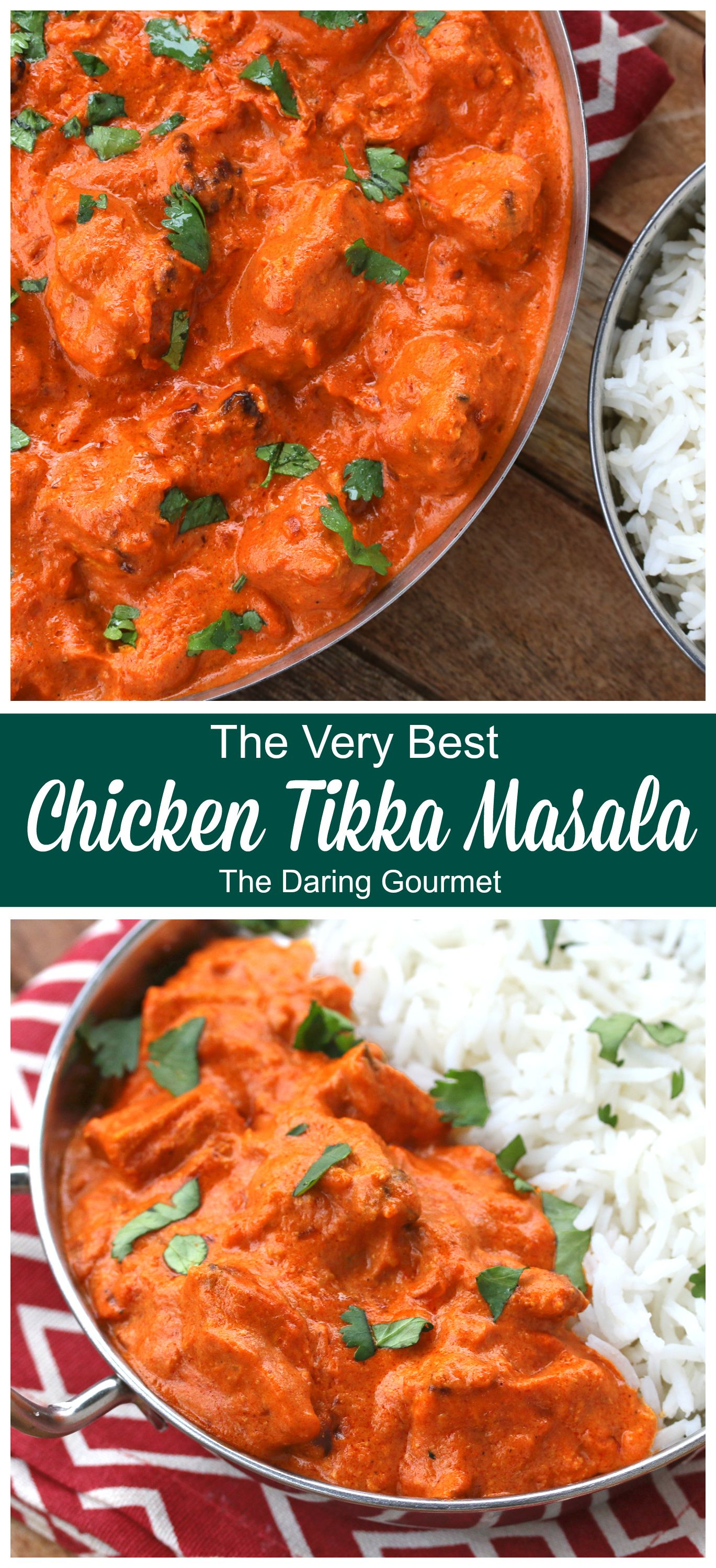 Chicken Tikka Masala Recipe Chicken Tikka Masala Recipes Tikka Masala Chicken Tikka