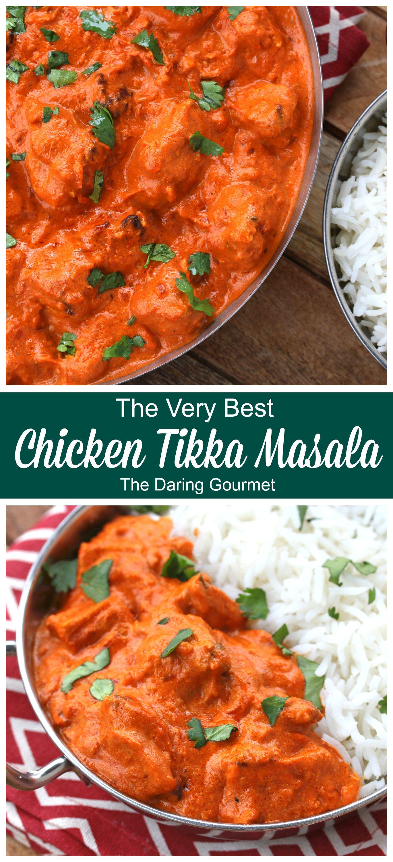 Chicken Tikka Masala Recipe Chicken Tikka Masala Recipes Tikka Masala Chicken Tikka