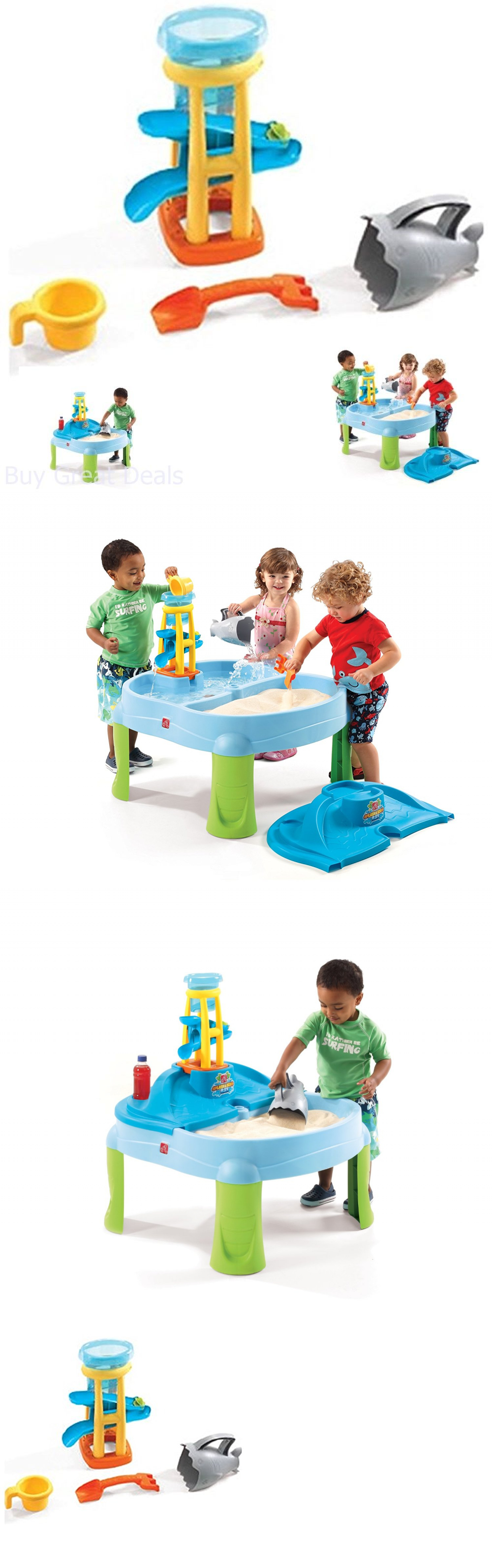 Water Toys Step2 Splash Scoop Bay Sand Water Table Cover