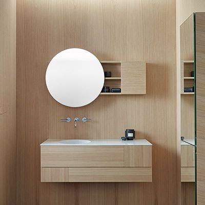 Meuble salle de bain design Coco de Burgbad Espace Aubade 洗手间