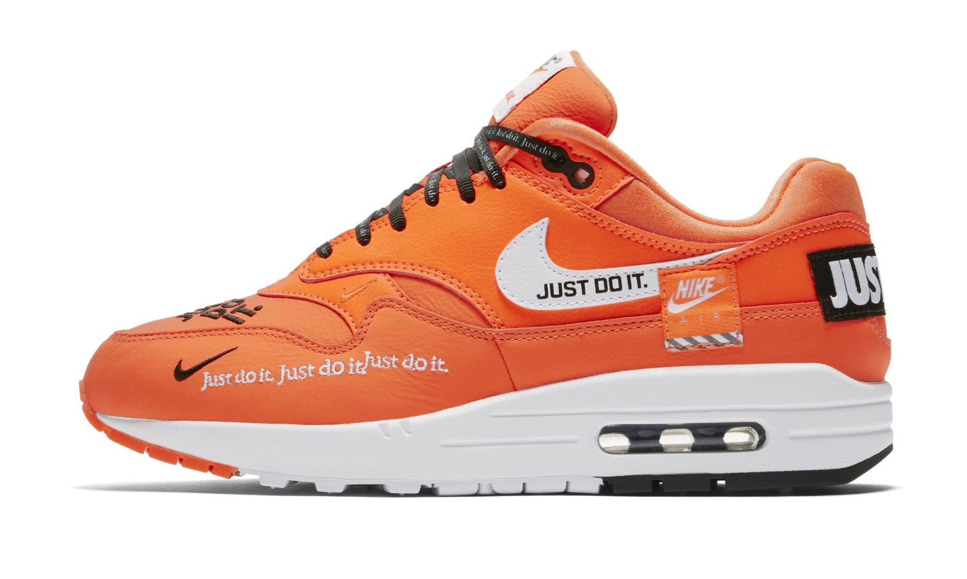 Nike WMNS Air Max 1 Just Do It Total Orange | Nike air max