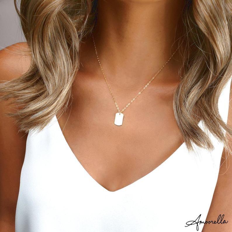 23+ Womens dog tag jewelry ideas