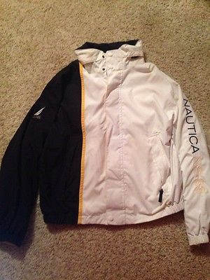 Yellow 83 Sailing about NS Details Mens Hooded Zip Nautica MqUVpGSz