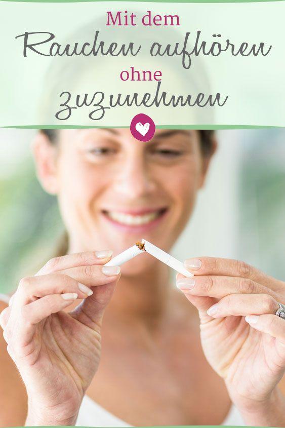 Aufhören zu rauchen - ohne an Gewicht zuzunehmen
