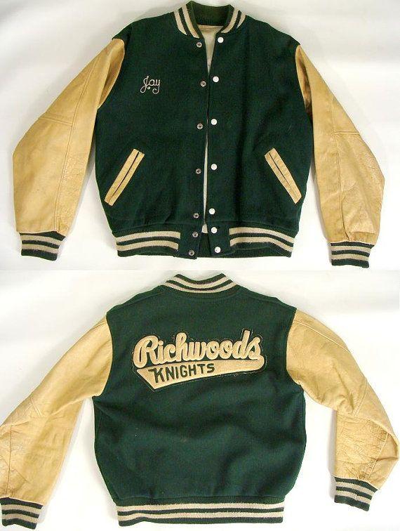 vintage 50s richwoods knights  peoria illinois high