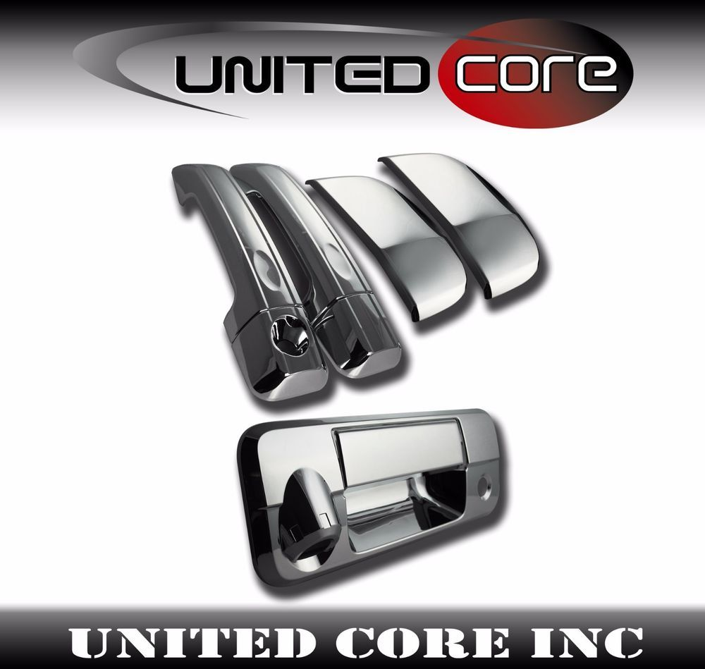 Details About Chrome Door Handle Cover Chrome Tailgate Handle 07 13 Toyota Tundra Double Cab Toyota Tundra Chrome Door Handles Toyota