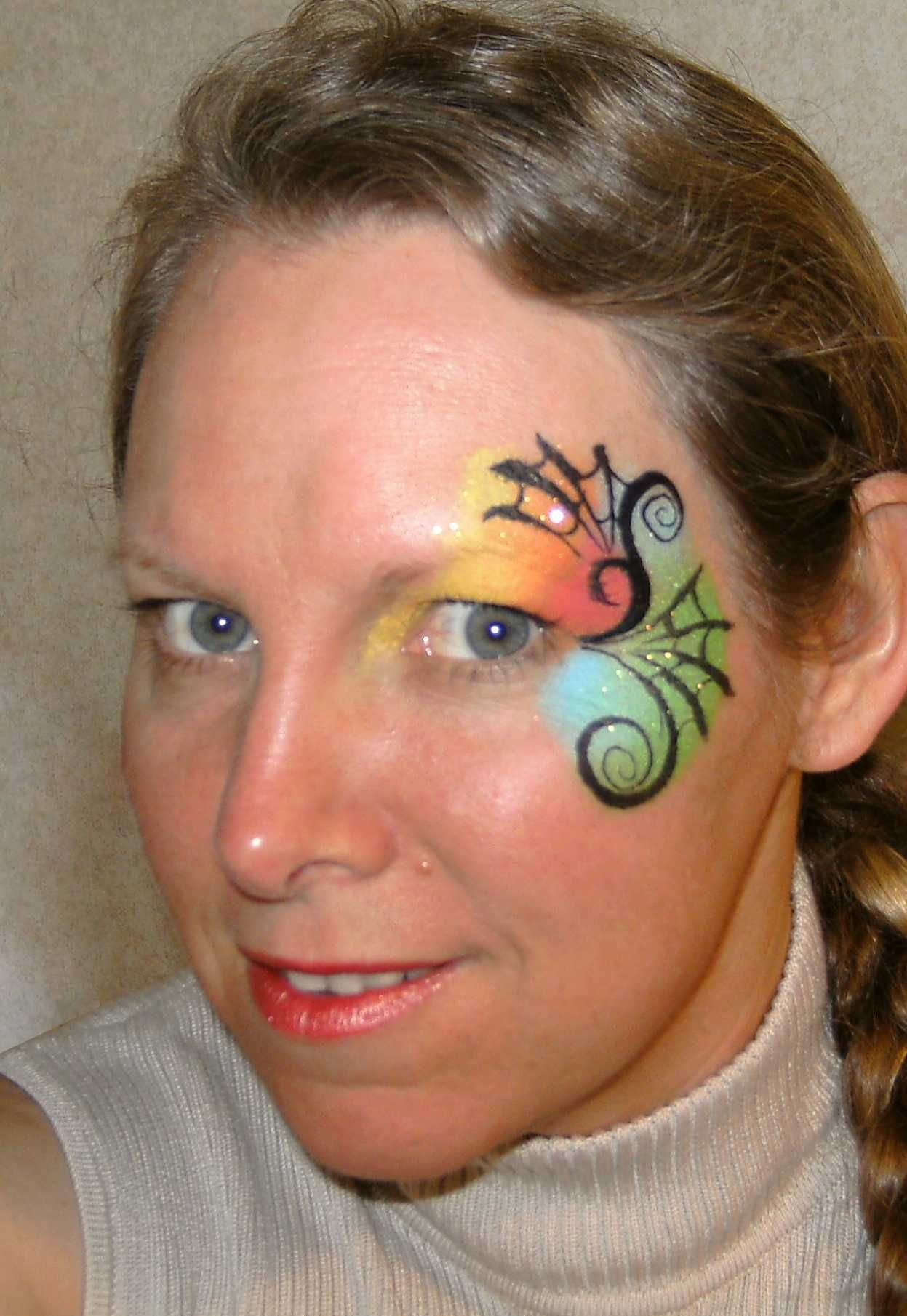 10 more face painting ideas to inspire your halloween - Halloween Easy Face Painting