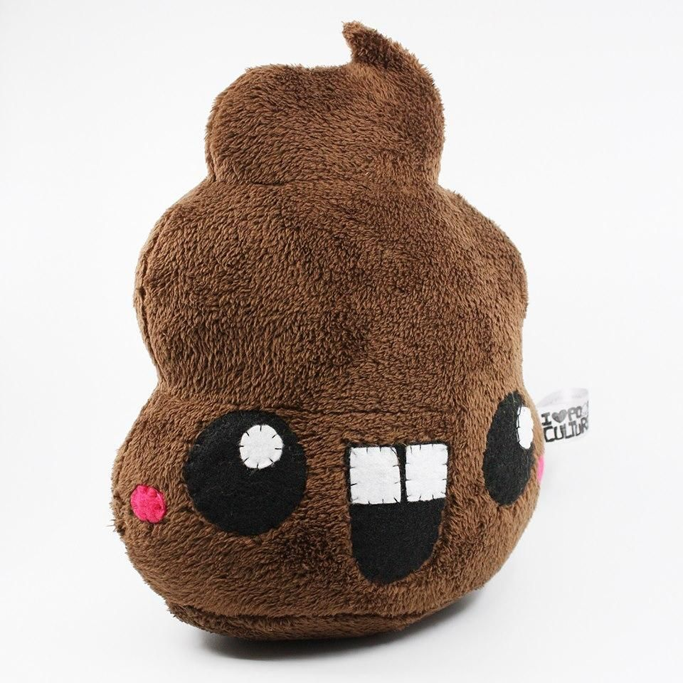 SDCC Exclusive Handmade Jumbo Ultrasoft Poop Plush This is by far the softest poop you can feel! Using an Ultrasoft Fluffy Fabric! Measures 12