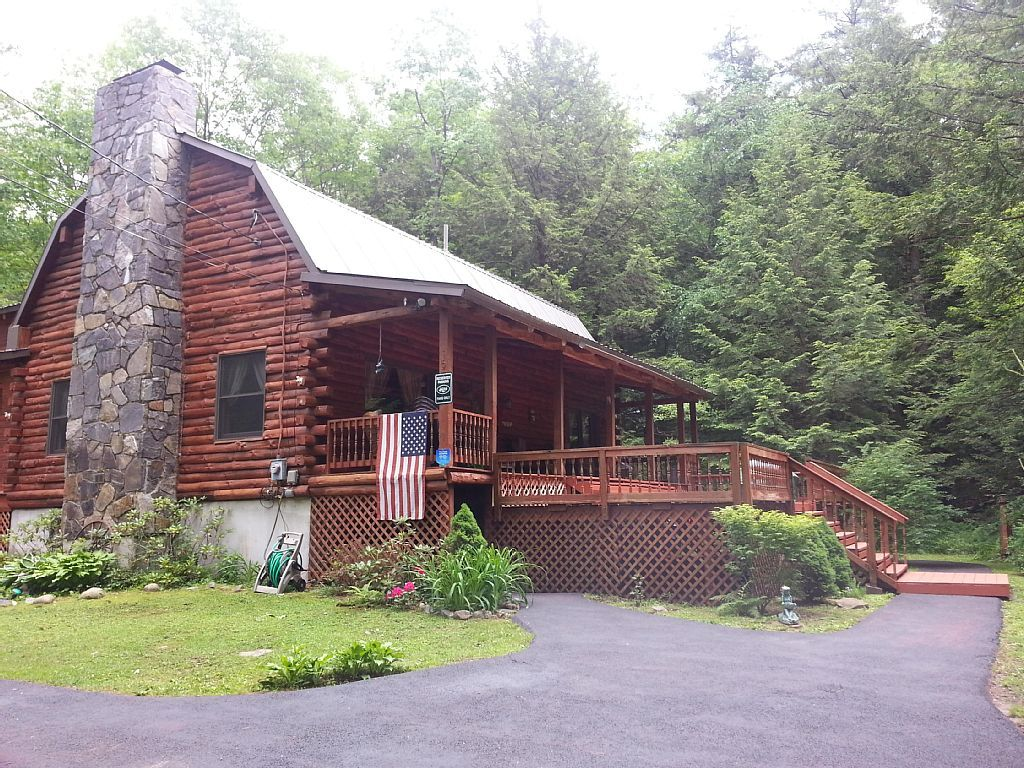 Cabin vacation rental in Lake Luzerne from VRBO com