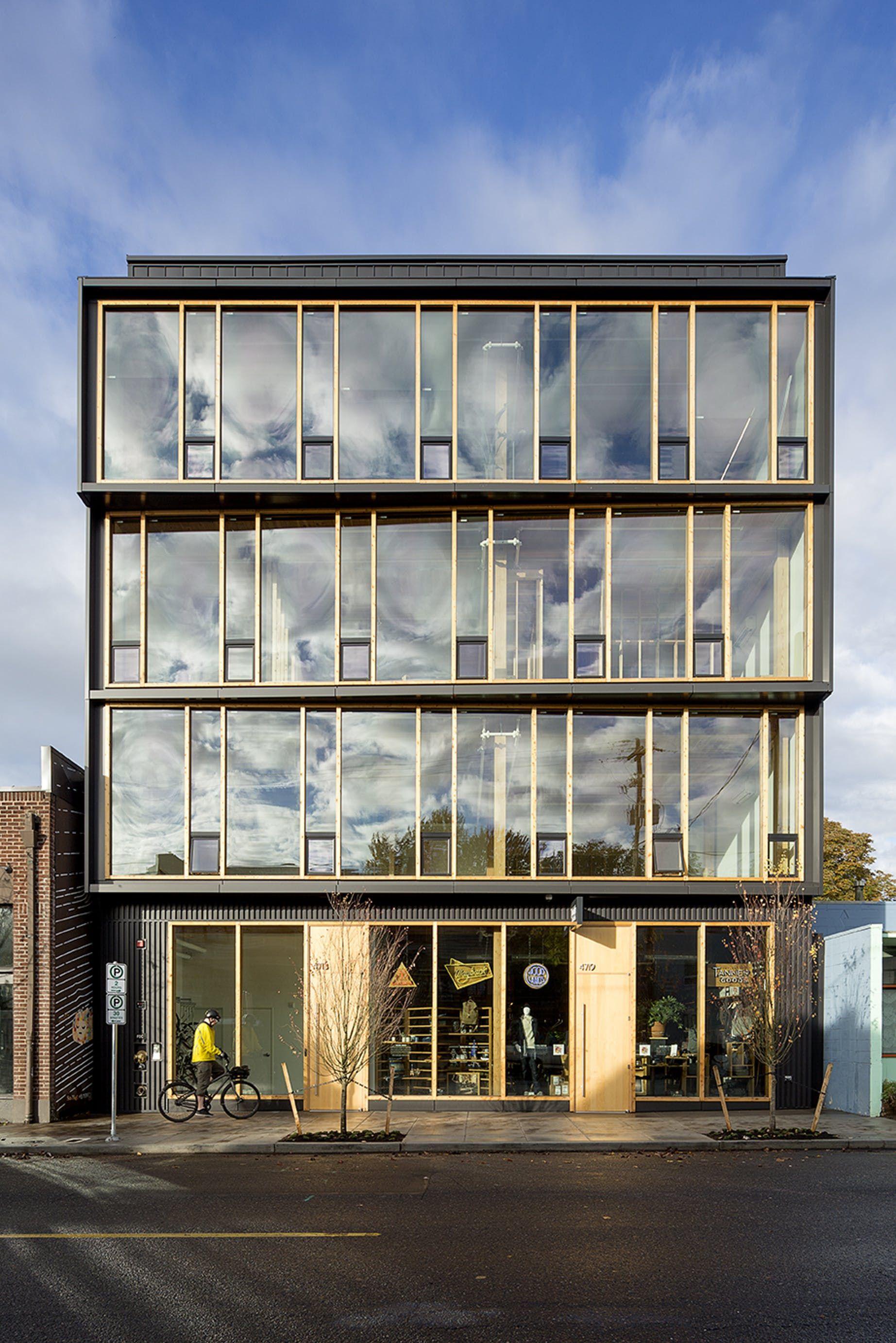 Albina Yard Lever Architecture Archinect Office Building Architecture Architecture Facade Architecture