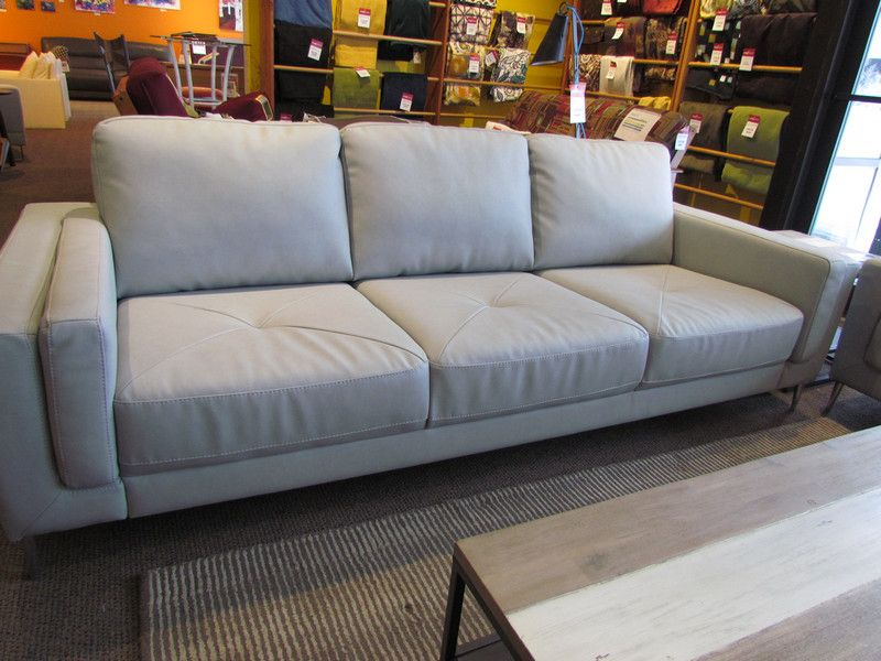 Zuri Leather Sofa In Dax Ash By Palliser. On Scan Home Http://