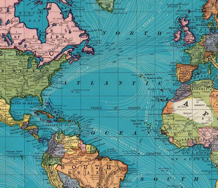 Old world map atlas vintage world map 1897 mercator projection old world map atlas vintage world map 1897 mercator projection gumiabroncs Image collections