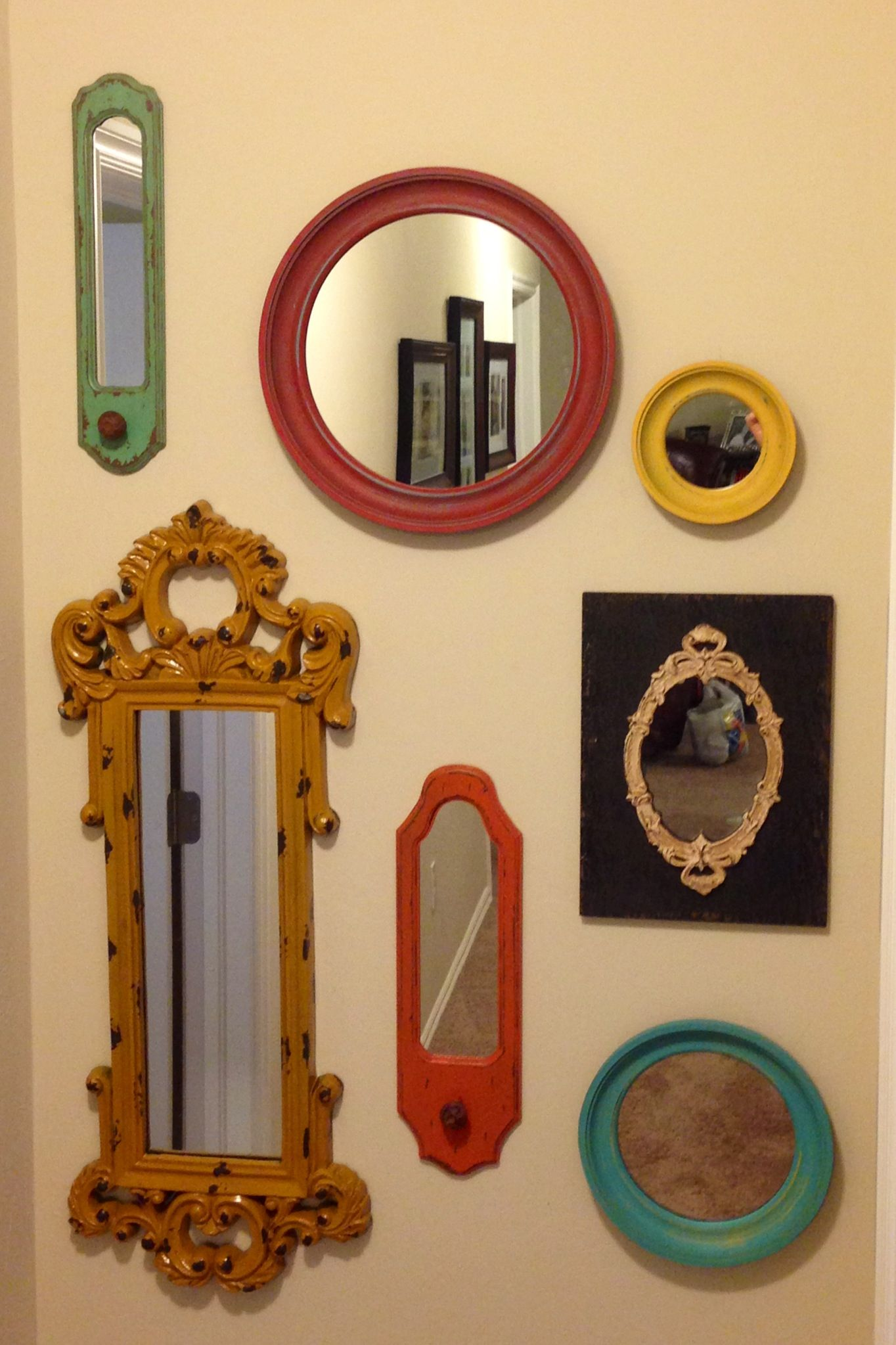 Wall of Mirrors | Home Ideas | Pinterest | Walls, Living room ideas ...