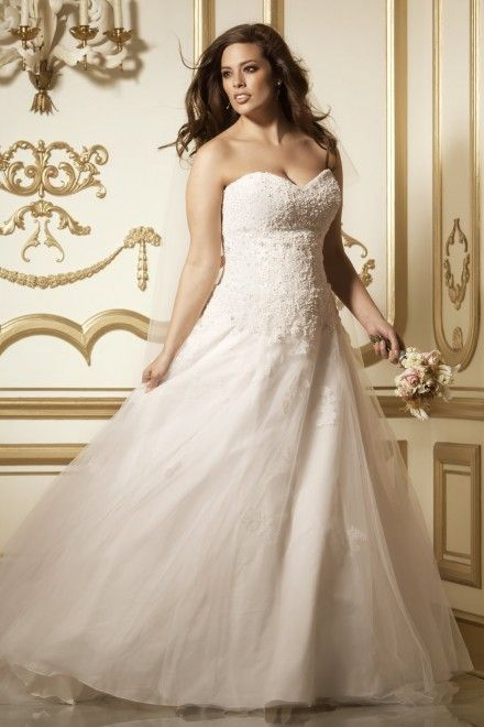 Ashley Graham Wedding.Ashley Graham Bride Dress Ashely Wedding Dresses Full