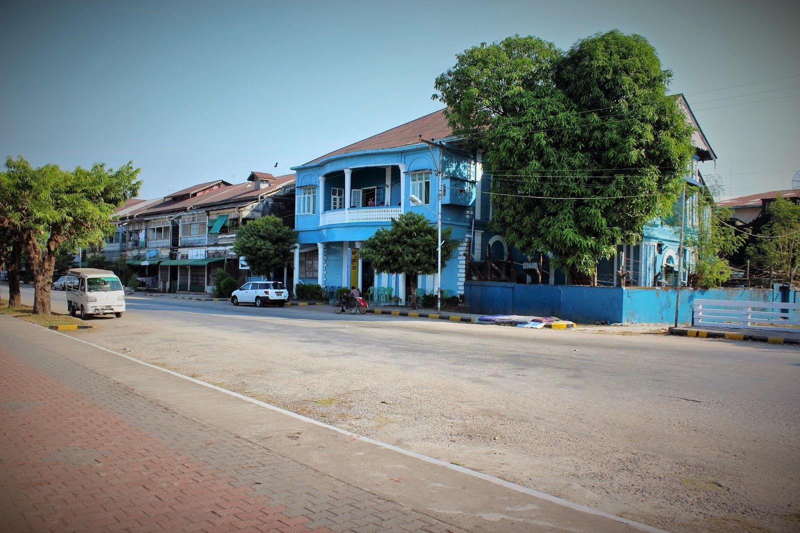 Rinkka selässä maailman ympäri: Mawlamyine - Kaunis joenrantakaupunki