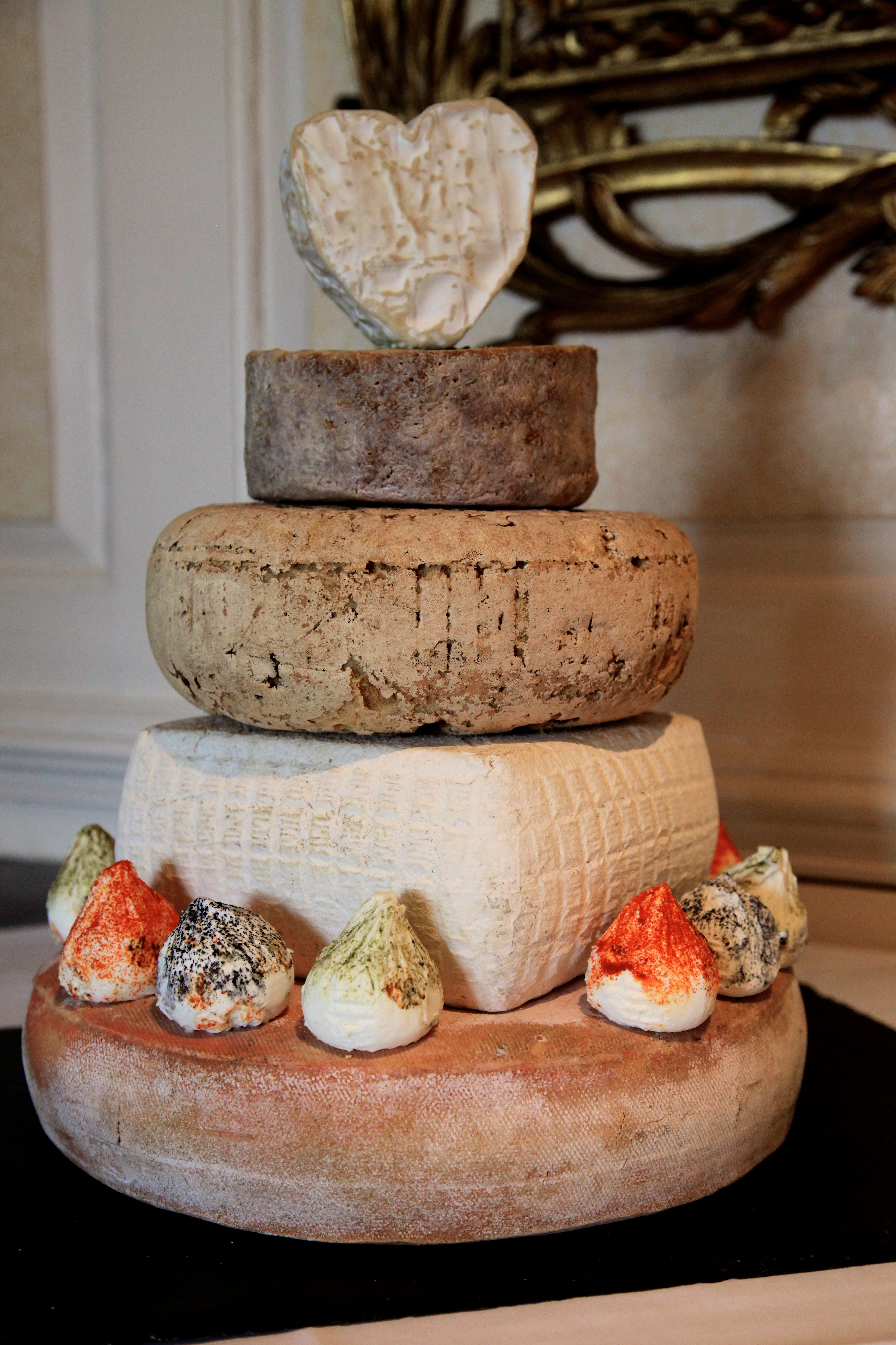 Our Sublimely Wonderful Tower Of Cheese Who Needs Wedding Cake When There S Fromage