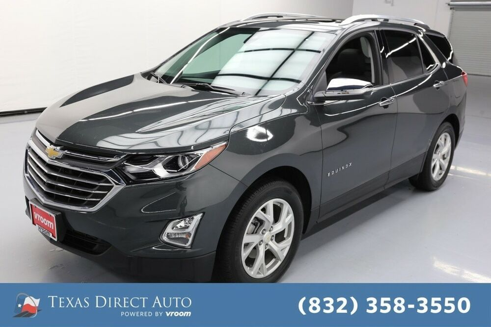 For Sale 2018 Chevrolet Equinox Premier Texas Direct Auto 2018 Premier Used Turbo 1 6l I4 16v Automatic Awd Suv Bo Chevrolet Equinox Chevrolet Diesel For Sale