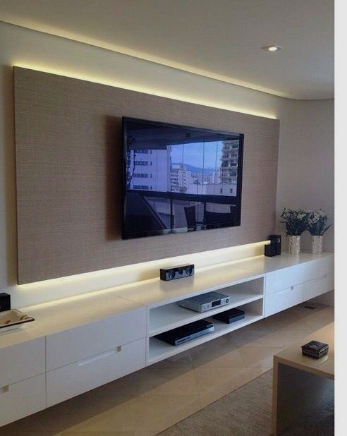 Beautiful Tv Ideas For Living Room Source Https Bestplitka Com 90 Most Popular Wall Mount Tv Ideas F Living Room Tv Wall Living Room Tv Trendy Living Rooms