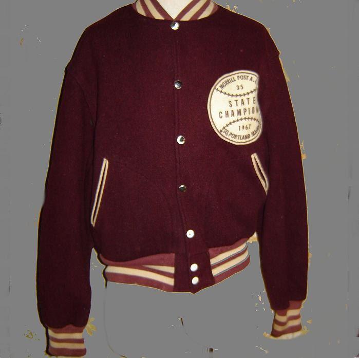 Vintage Baseball Jacket Baseball Jacket Mens Jackets Jackets