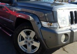 Jeep Commander Bushwacker Fender Flares
