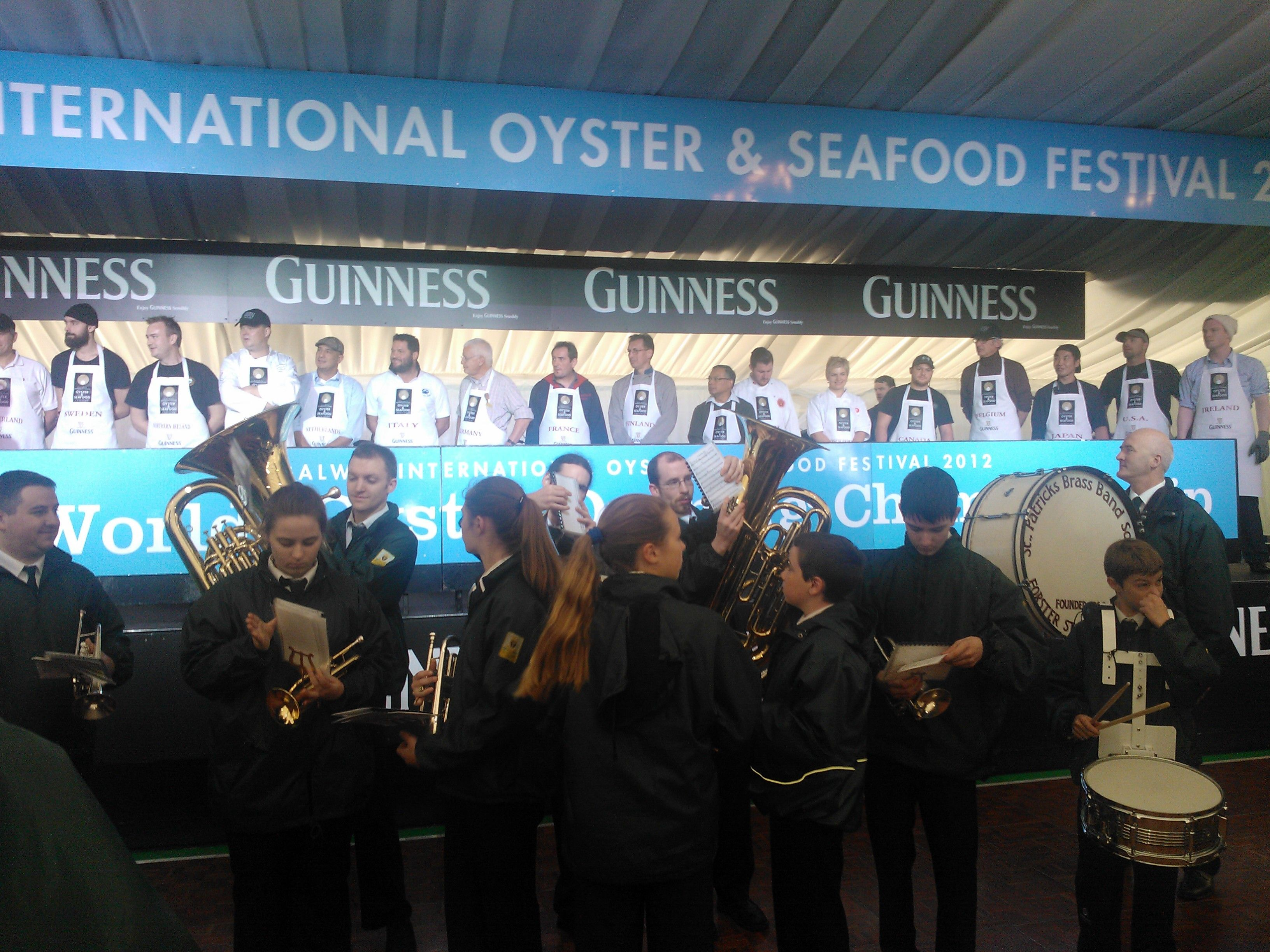 Great Fun Today At The Galway International Oyster Festival With