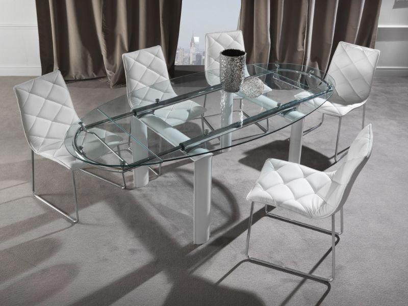 Tavolo palladio 679 tavoli cristallo allungabili tavoli for Shop arreda