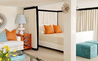 curtains room dividers Room Dividers Curtain Pinterest Curtain