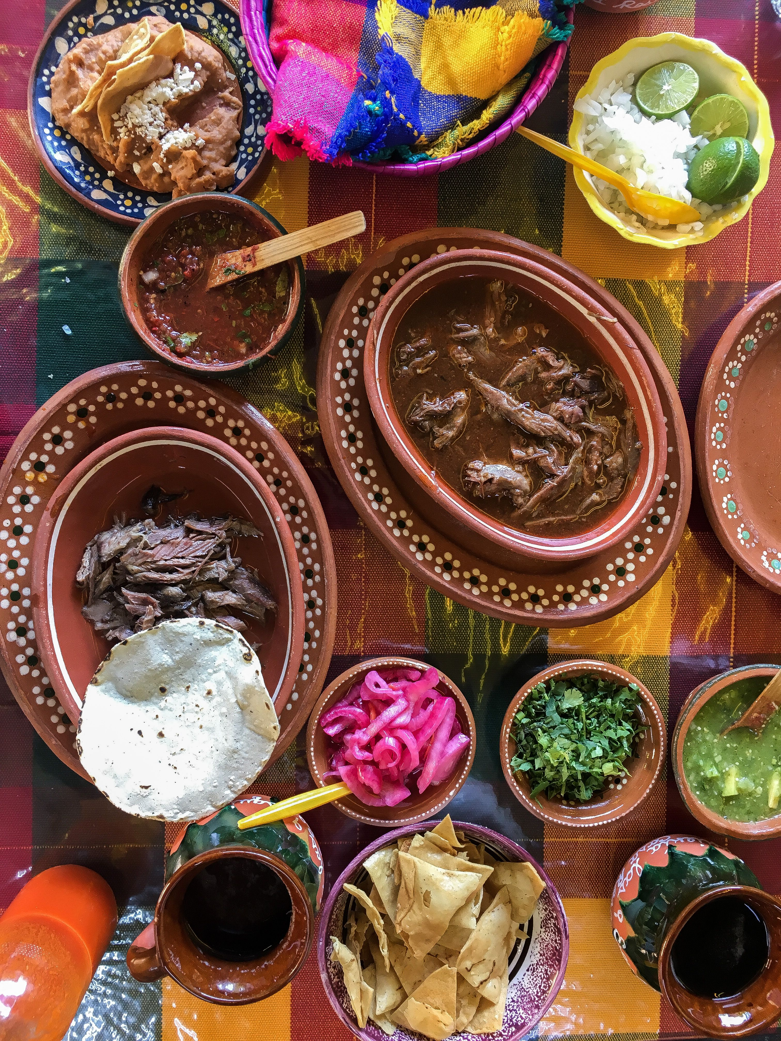 Traditional Mexican Dinner In Guadalajara Mexico