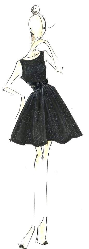 Erin Fetherston #fashion #illustration #evatornadoblog #mycollection