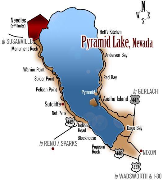 EXPLORE Pyramid Map Pyramid Gallery The BLOG Contact Us - Lake tahoe us map
