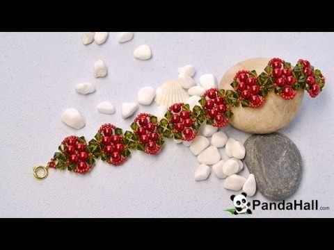 Video 97 P Comment Faire Un Bracelet Avec Perles En Verre Et Perles