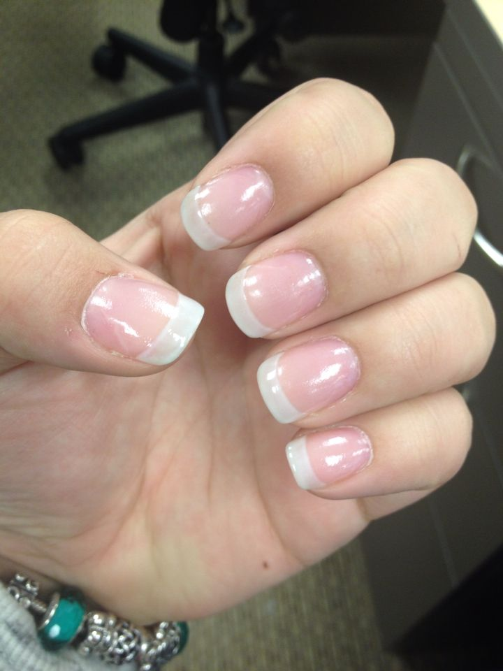 American Tip Nails