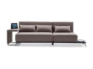 Chazzo Gray Modern Sleeper Sofa Modern Sleeper Sofas