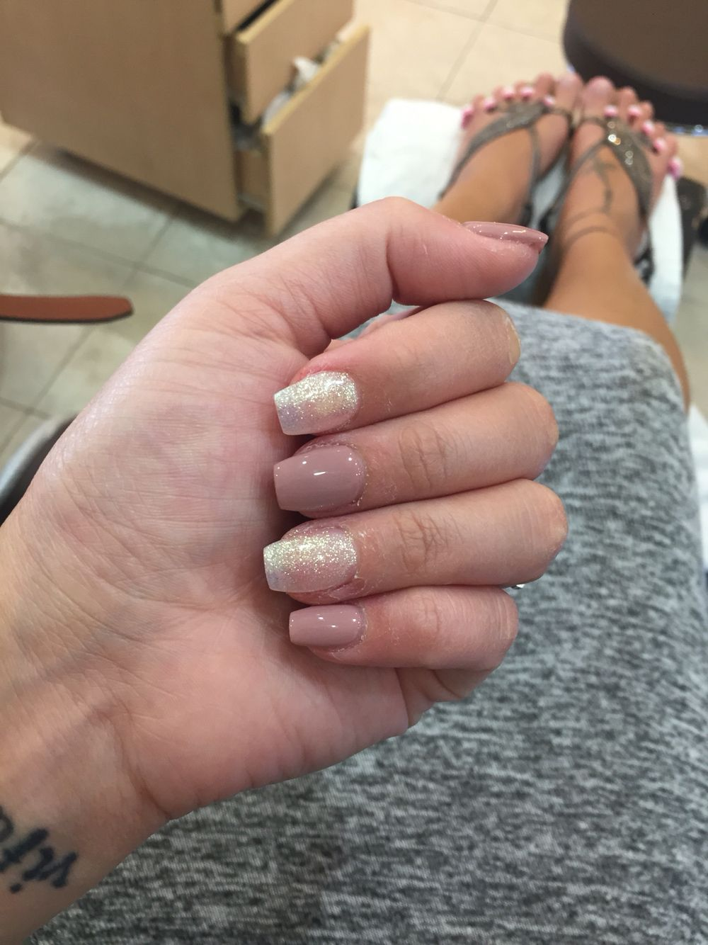short coffin nails toffee color | nails | pinterest | coffin nails