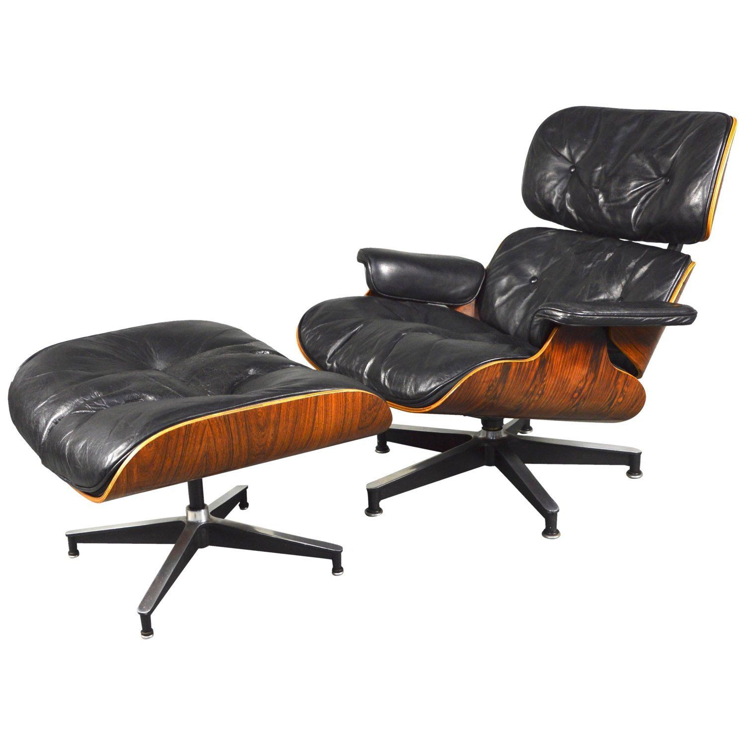 2nd Generation Eames Lounge Chair And Ottoman By Herman Miller 1950 1960 Eames Lounge Chair Wayfair Living Room Chairs Wood Lounge Chair