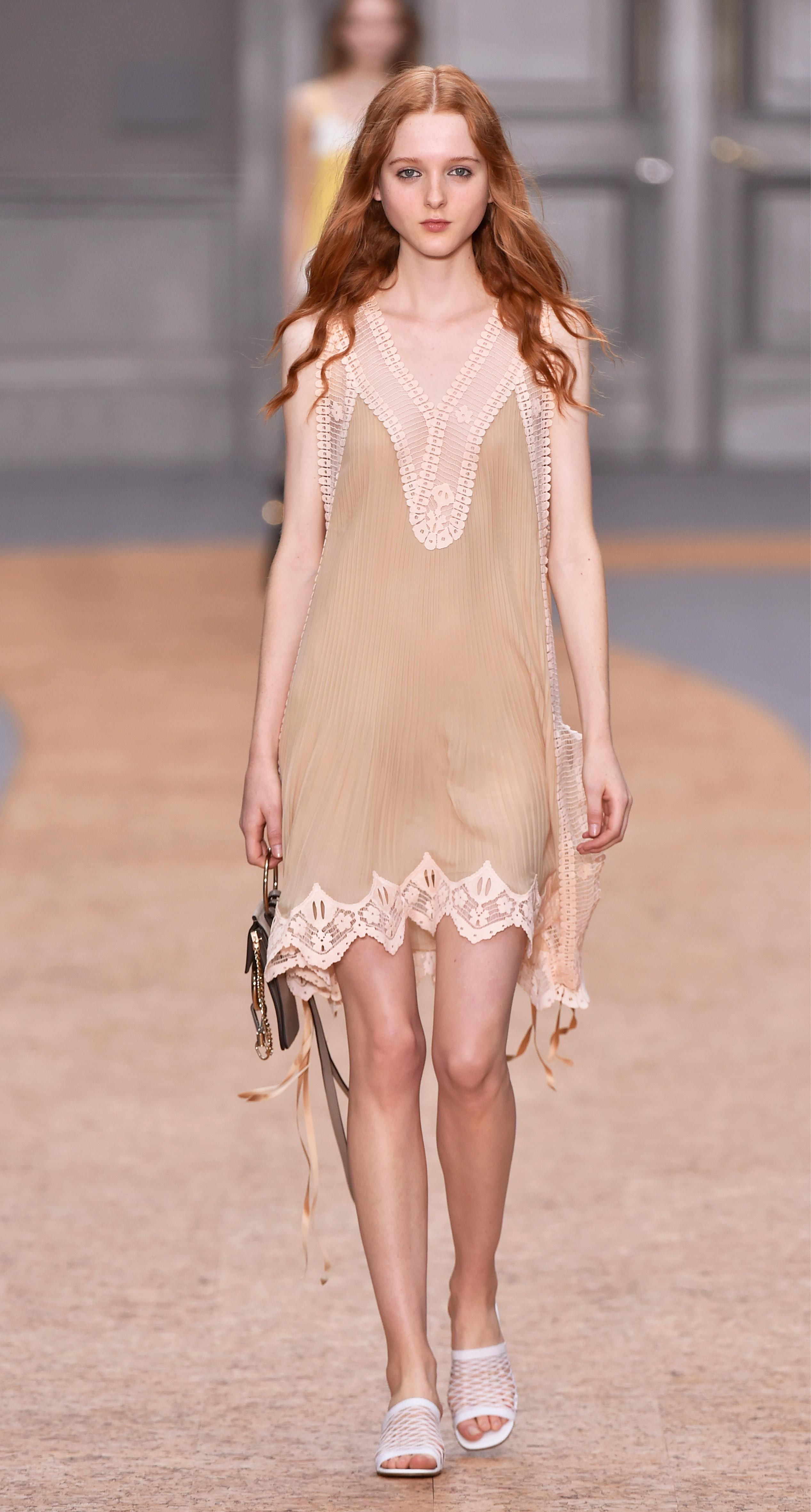 Look from the chloé springsummer collection boheme chic