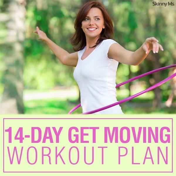 14-Day Get Moving Workout Plan - Get Set Fit
