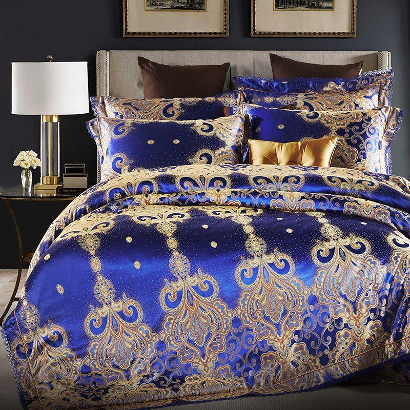 Doublebedsheets Blue Bedroom Decor Bed Linens Luxury Luxury